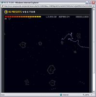 Flash Game: Vector